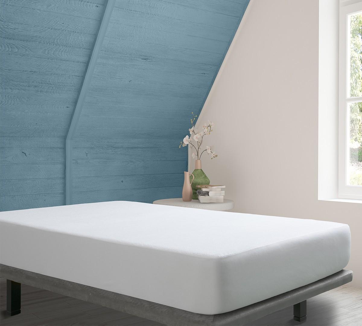 Protector de Colchón Rizo Impermeable - Protectores de colchón