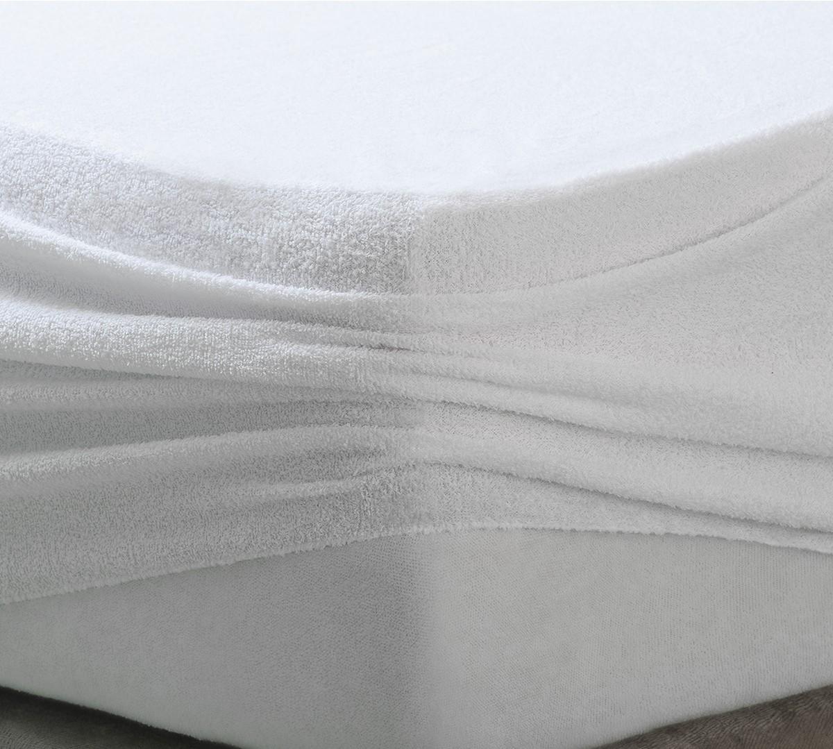Protector de Colchón Rizo Impermeable y Transpirable - Protectores de colchón