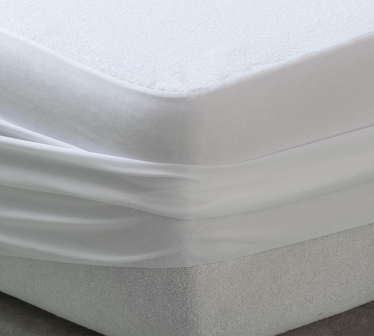Protector de Colchón Rizo Argán Impermeable y Transpirable - Protectores de colchón